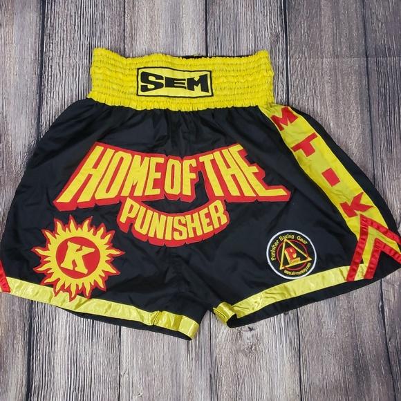 AirMonkey Other - Punisher Muy Thai Boxing Shorts XXL